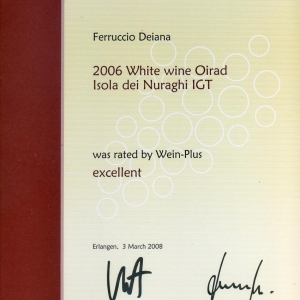 Oirad 2006 - Excellent - Wein-Plus 2008